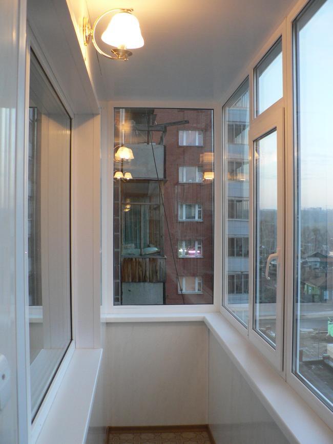 """Балконы в томске под ключ. остекление балконов - """"блик"""".."""