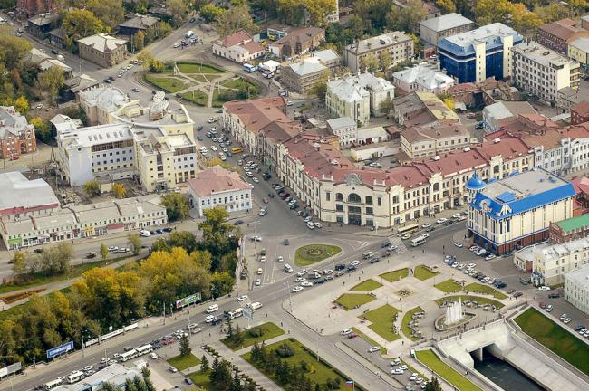 Ленина 111, переулок Батенькова 1