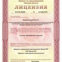 Лицензия новая 2012 год