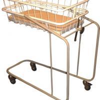 Кровать для новорожденных МД-07/1 Габаритные размеры - 840х440х1000