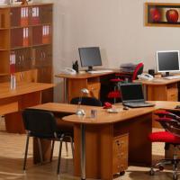 Офисная корпусная мебель - Рубин 4