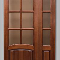 Двустворчатая дверь.Модель