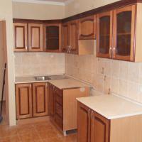 Кухонные фасады из массива сосны. 1м/кв-6000 руб.