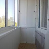 Алюминиевый шкаф на балконе. Наша работа