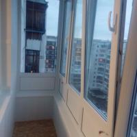 Остекление балкона с внутренней отделкой. Наша работа.