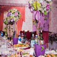 Композиции на стол.Цветущие деревья