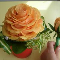 №33 Букет невесты: замечательная гламелия из 16 роз!