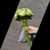 №77 Букет невесты из розы Лимбо