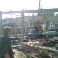 Строительство домов, начальный этап