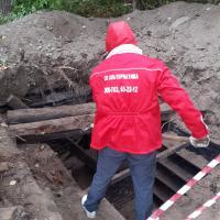 Ремонт перекрытий погреба по адресу ул. Яковлева (начало работ)