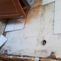 Устройство кухонного фартука по адресу ул. Иркутский тракт (начало работ)