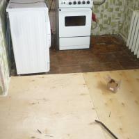 Комплексный ремонт пола ул.Дальне-Ключевская (до начала работ)