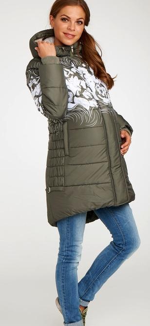 Куртка Канэ Размерный ряд: 42/46/48/50 Цвет: Хаки Утеплитель: Термофинн+Синтепон Цена:7920р.