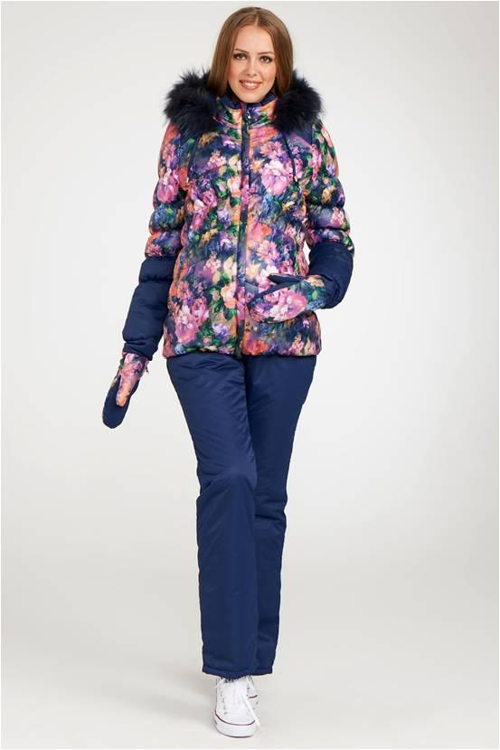 Куртка Аделина Размерный ряд: 46/48/50 Цвет: Синий/бирюзовый. Утеплитель: Термофинн+Синтепон Мех: Натуральный енот Цена:8640р.