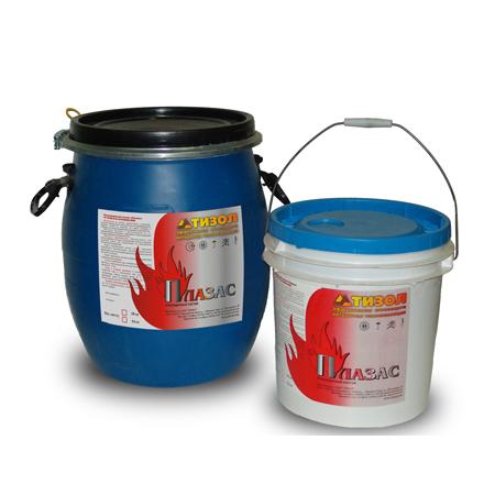 Фасовка - 15 кг / 45 кг   Огнезащитный клеевой состав для использования в конструктивных системах