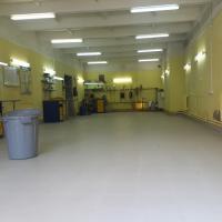 Укладка керамогранита в фирменных центрах Старлайн (окончание работ)