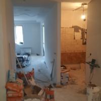 Комплексный ремонт квартиры по адресу ул. И. Черных. Ванная комната (промежуточный вариант).