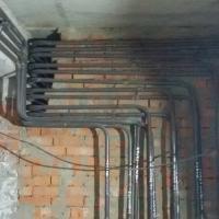 Система отопления в коттедже в пос. Снегири