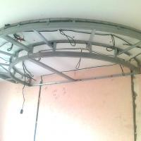 Устройство подвесного потолка по адресу пер. Нечевский (Начало работ)