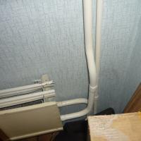 Работы по замене радиаторов по адресу ул. Киевская. (до начала работ)
