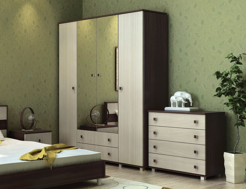 шкаф для спальни плательный с комодом фото след коты оставили