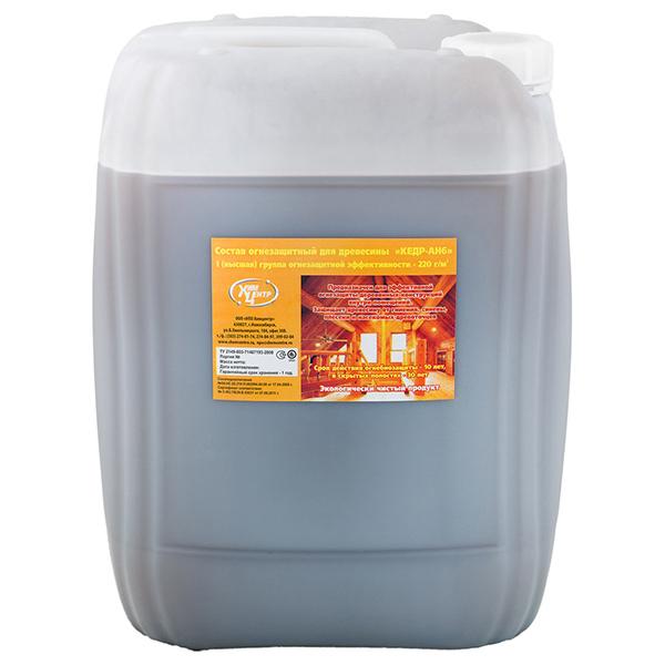 Фасовка - 25 кг | Огнезащитная антисептик-пропитка для дерева