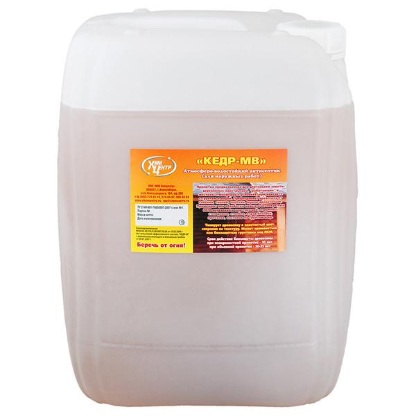 Фасовка - 16 кг | Антисептик для древесины атмосфероводостойкий